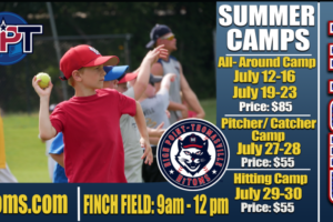 Sign Up Today for the HiToms' Baseball Camps!