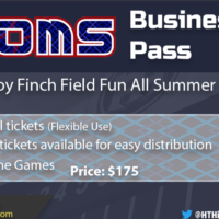 Business Passes Now on Sale!