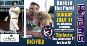 Northwood Animal Hospital Bark in the Park – July 11th