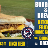 Burgers and Brews – Every Friday at Finch Field