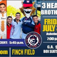 3 Heath Brothers Concert Rescheduled for Friday, July 30th