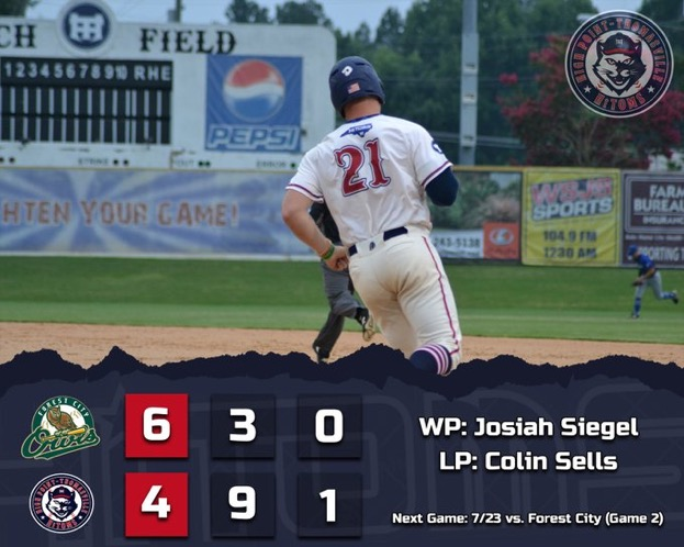 Owls Sweep HiToms in Doubleheader
