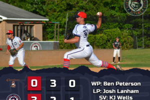 Peterson Wins Pitchers' Duel Over Asheboro