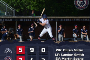 Windish Homers in Loss to Mustangs