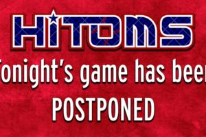 HiToms vs. Owls Postponed; Makeup Date July 23rd (DH)