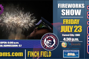 Our Fireworks Extravaganza is Tonight!