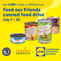 HiToms Team Up with Lidl for 'Feed our Friends' Canned Food Drive